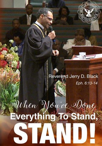 1143 When You've Done Everything to Stand, Stand! (DVD)