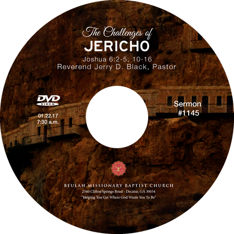 1145 The Challenges of Jericho (CD)