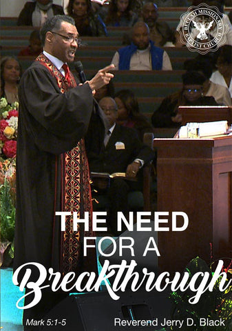 1147 The Need for a Breakthrough (DVD)