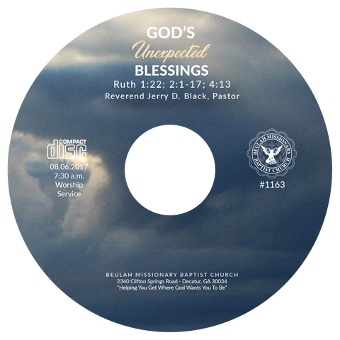 1163 God's Unexpected Blessings (CD)