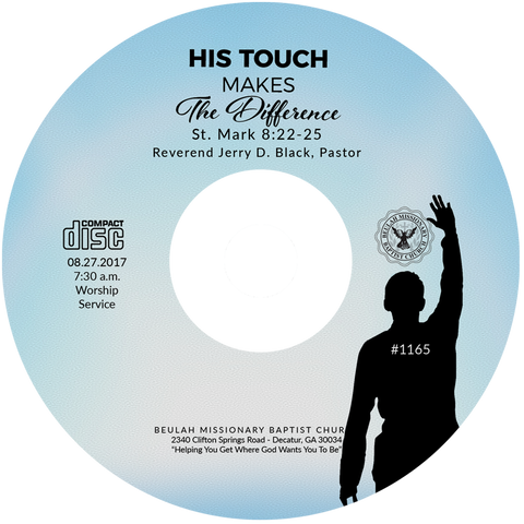 1165 His Touch Makes the Difference (CD)