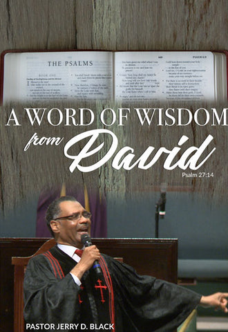 1166 A Word of Wisdom from David (DVD)