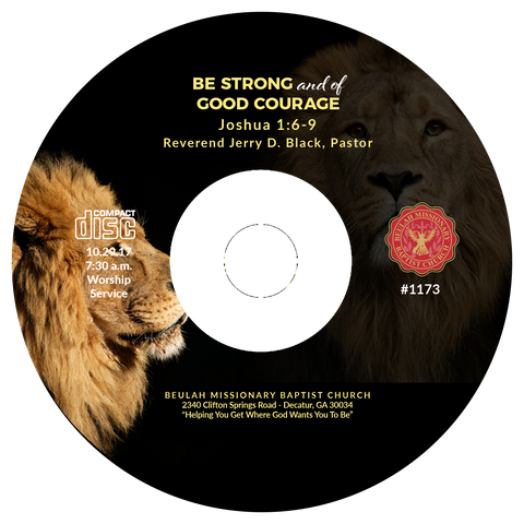 1173 Be Strong and of Good Courage (CD)