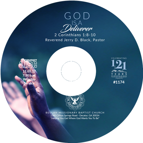 1174 God Is A Deliverer (CD)