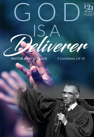 1174 God Is A Deliverer (DVD)