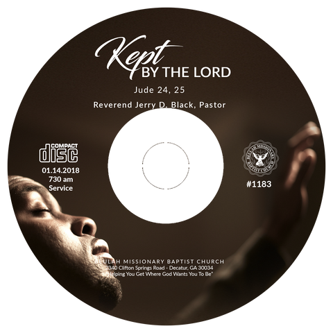 1183 Kept By The Lord (CD)