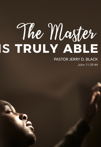 1189 The Master is Truly Able DVD (DVD)