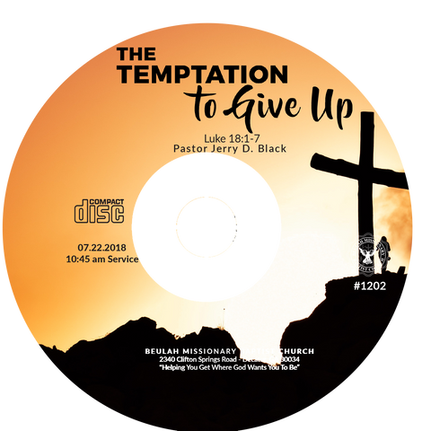 1202 The Temptation To Give Up (CD)