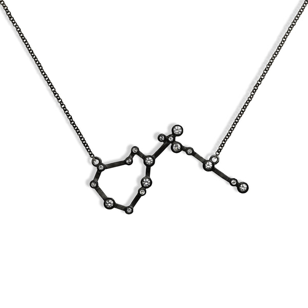 Aquarius - Gunmetal Necklace