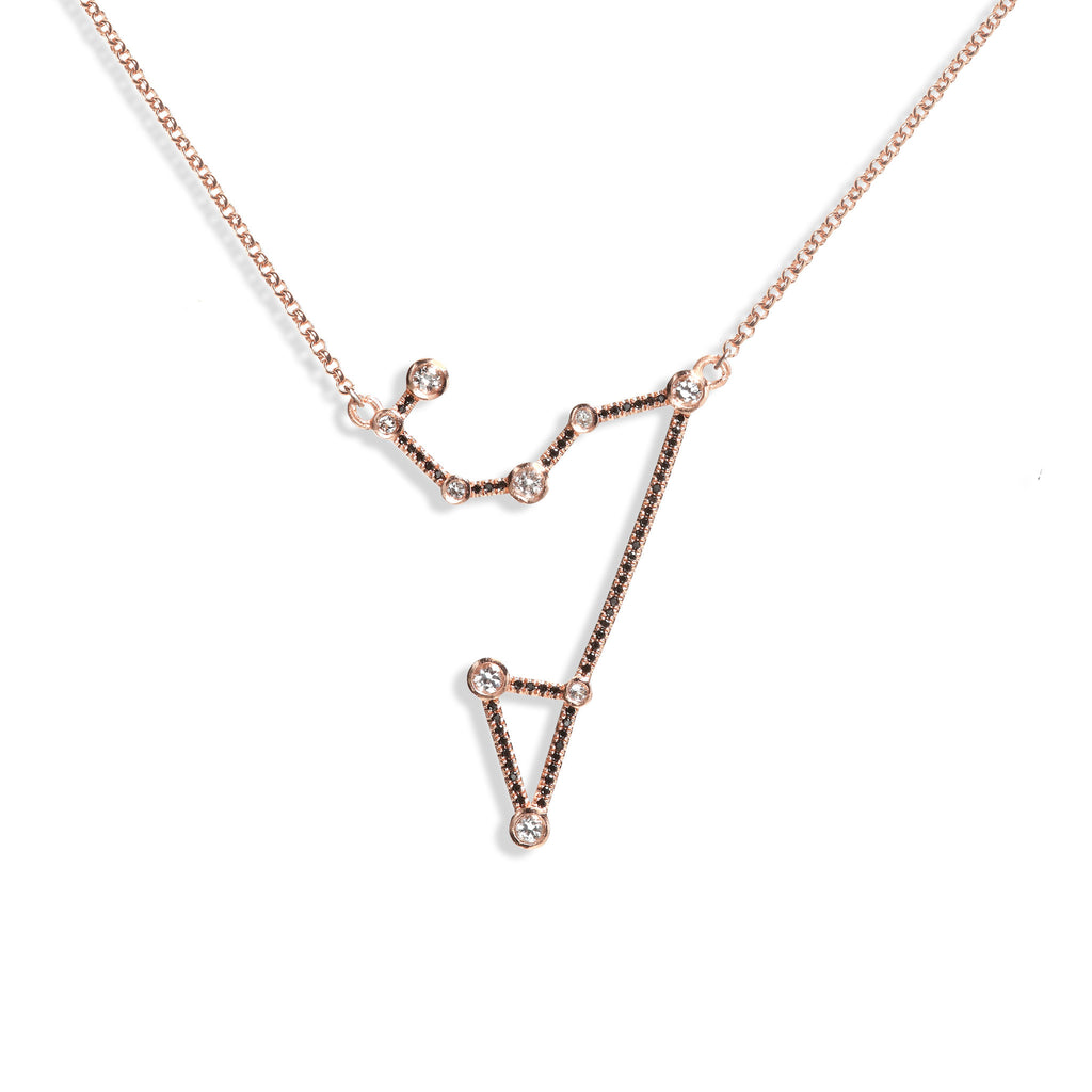 Leo - Rose Gold Necklace