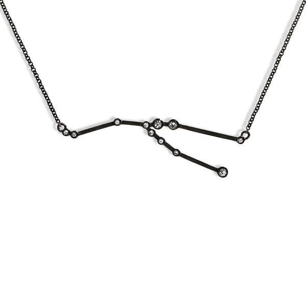 Taurus - Gunmetal Necklace