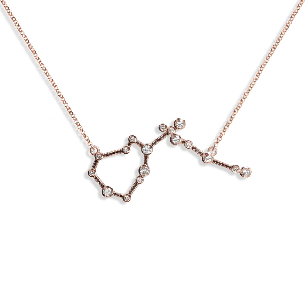 Aquarius - Rose Gold Necklace
