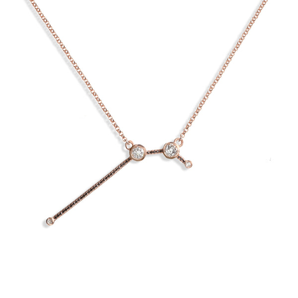 Aries - Rose Gold Necklace