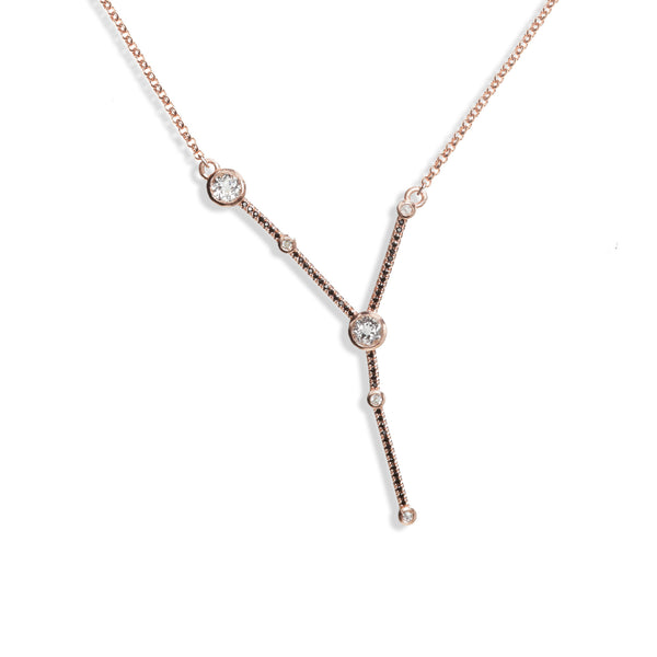 Cancer - Rose Gold Necklace