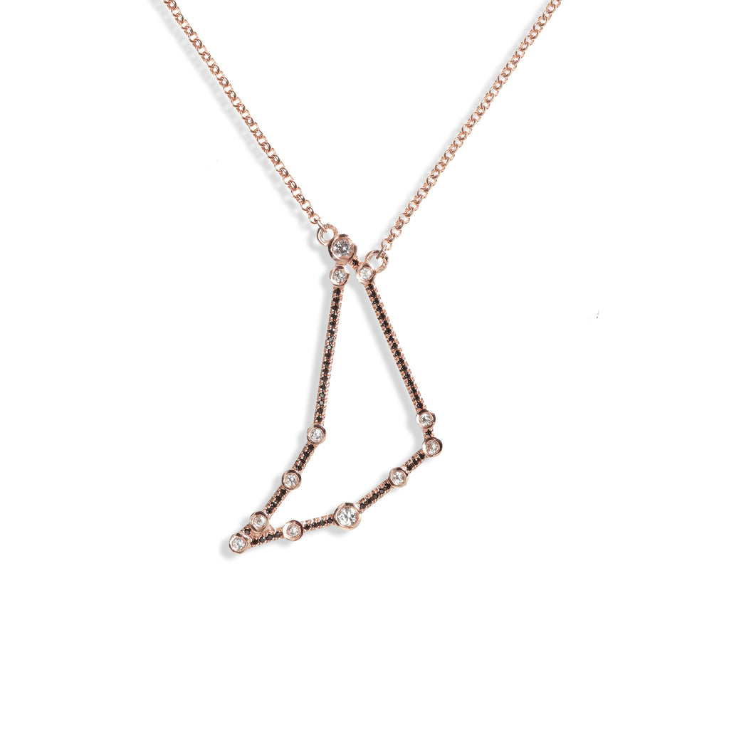 Capricorn - Rose Gold Necklace