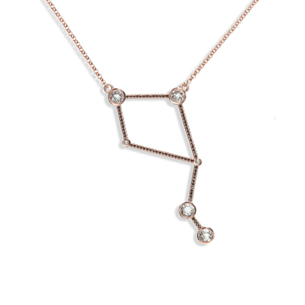 Libra - Rose Gold Necklace