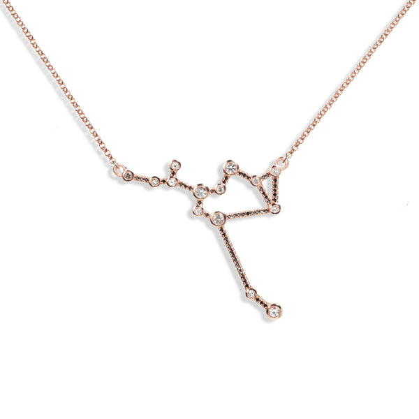 Sagittarius - Rose Gold Necklace