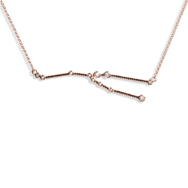Taurus - Rose Gold Necklace