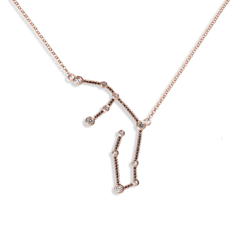 Virgo - Rose Gold Necklace