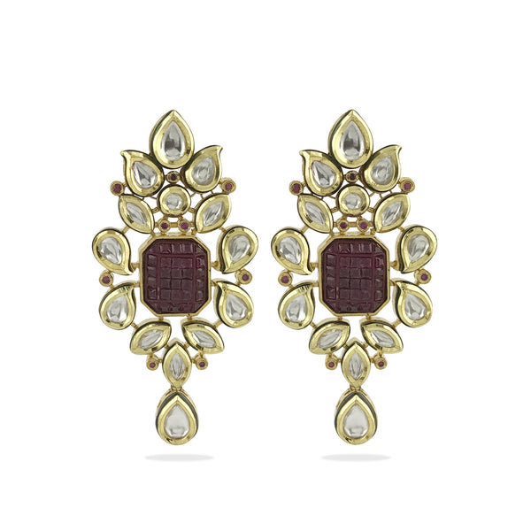 Sara Earrings - Indian Bridal