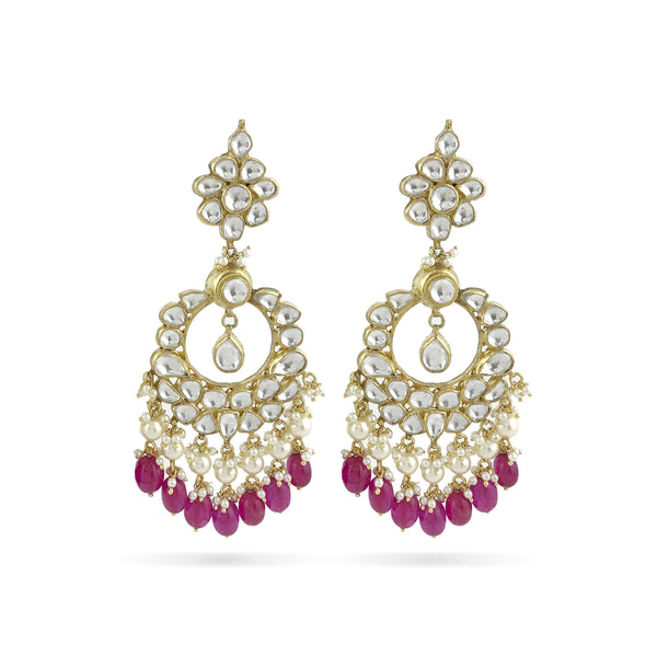 Anika Earrings - Indian Bridal