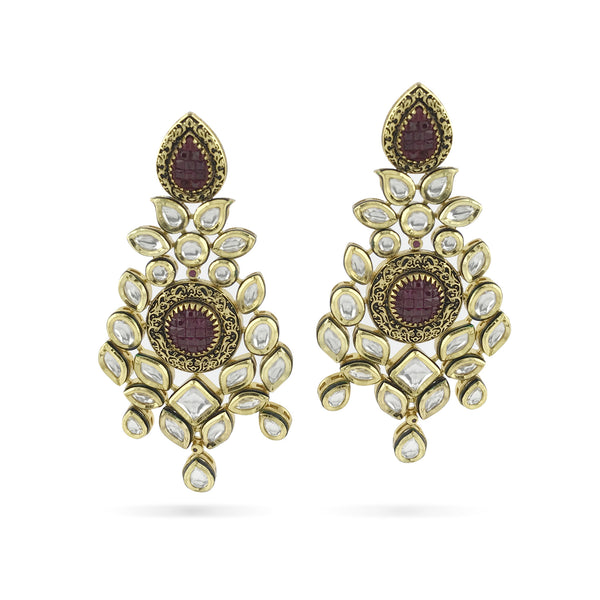 Reena Earrings - Indian Bridal