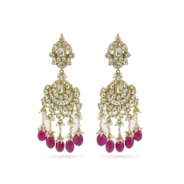 Kali Earrings - Indian Bridal