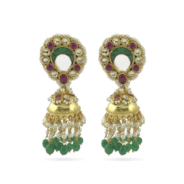 Eka Earrings - Indian Bridal
