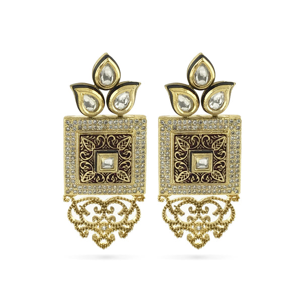 Arya Earrings - Indian Bridal