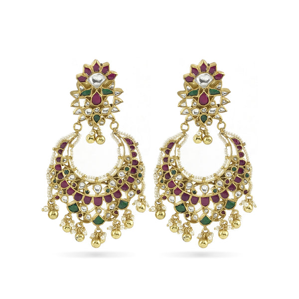 Lucia Earrings - Indian Bridal