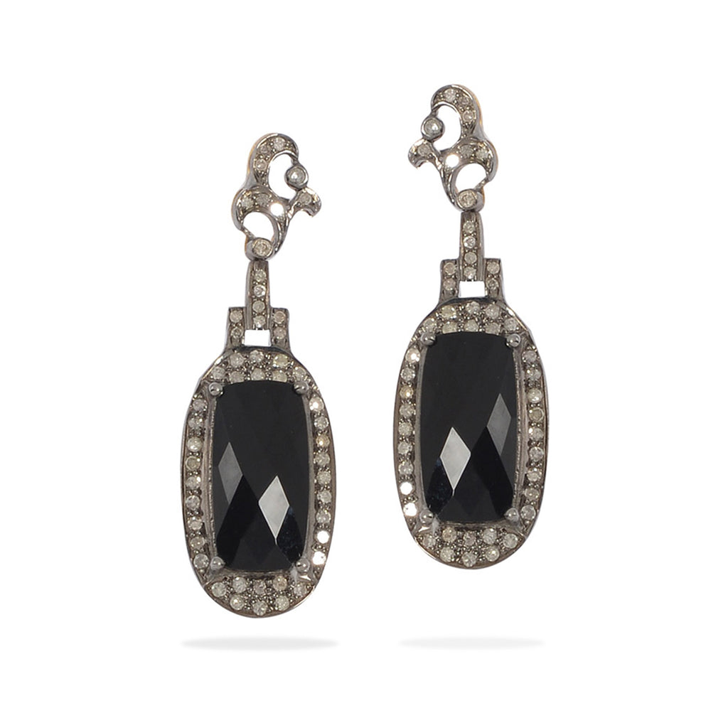 Millie - Smokey Topaz Earrings