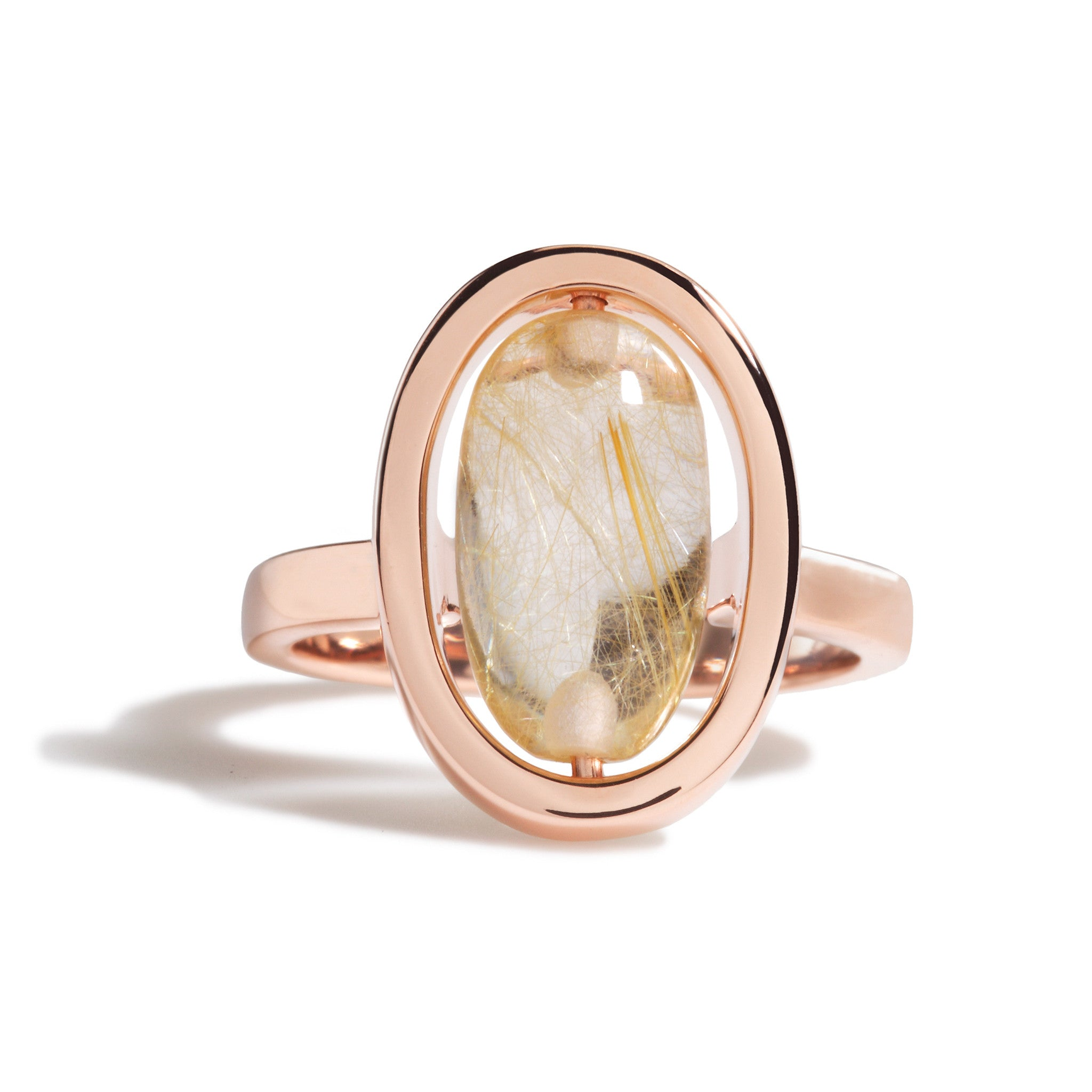 gold white of copy diamonds rose pomellato ritratto ring rings with milky quartz products and