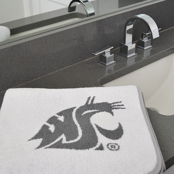 ANGOCHA WSU White Bath Towel