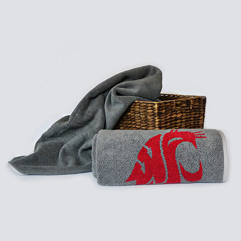WSU Bath Towel (Crimson Logo)