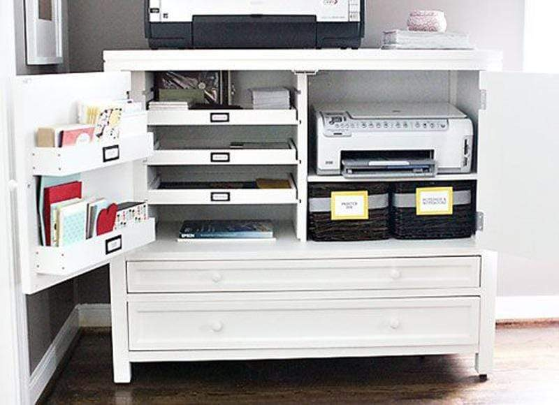 5 Affordable and Easy Hacks For An Organised Home Office