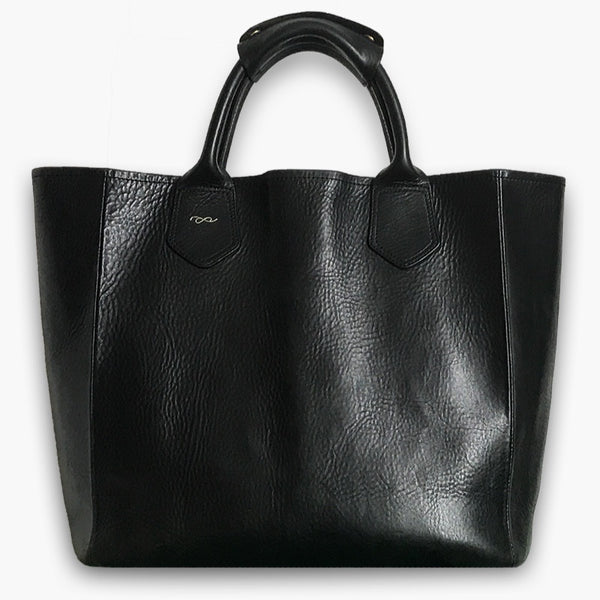 4d792088219 Join or die tote bag in black leather jpg 600x600 Black leather bags