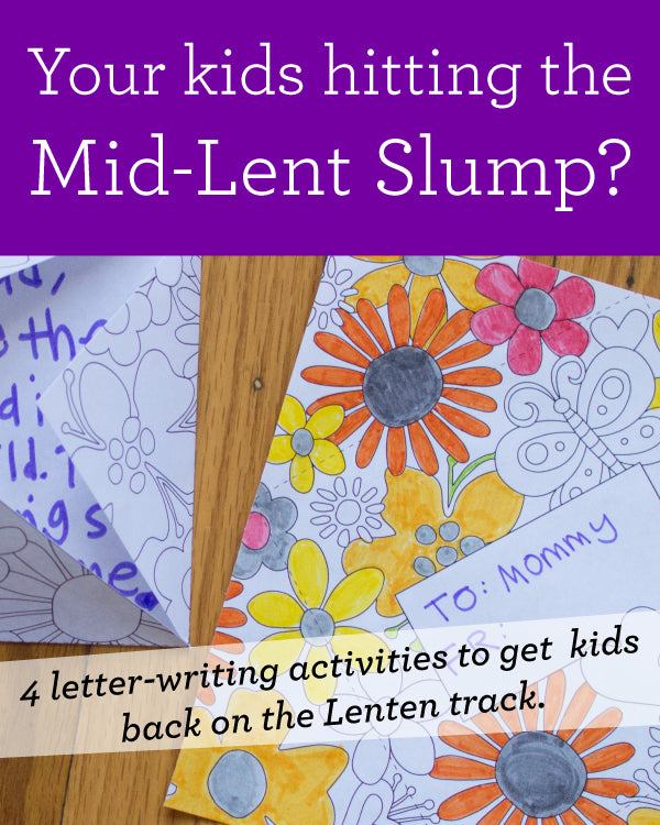 4 Lent Letter-Writing Activities for Children Catholic