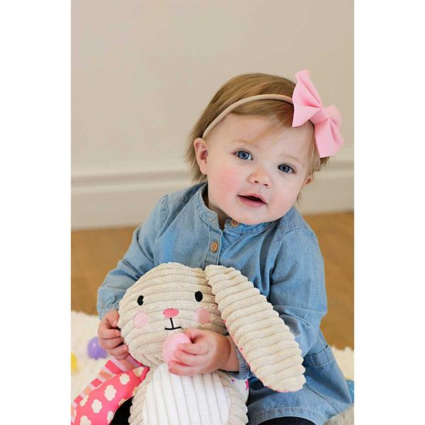 Lullaby Bunny (Pink) - The Wee Believers Toy Company