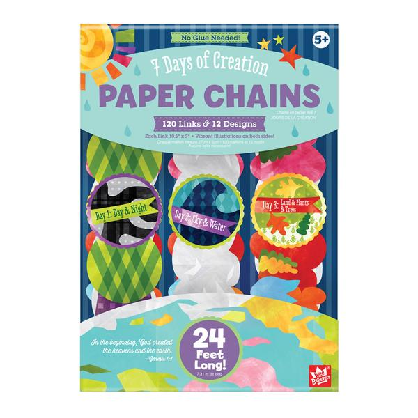 7 Days of Creation Paper Chains - The Wee Believers Toy Company