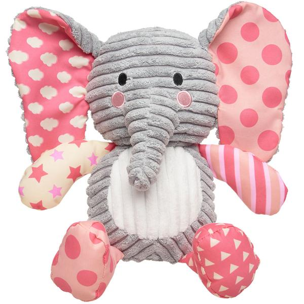 Lullaby Elephant (Pink) - The Wee Believers Toy Company