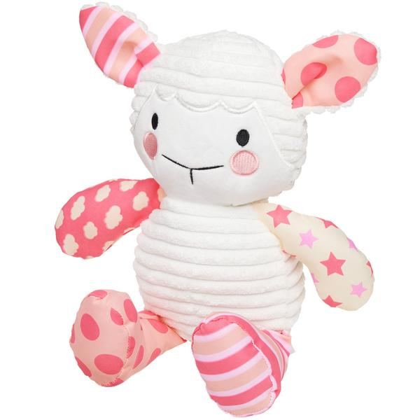 Lullaby Lamb (Pink) - The Wee Believers Toy Company