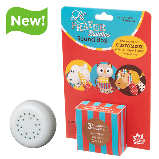 3 Catholic Prayers - Add-On Sound Box - The Wee Believers Toy Company