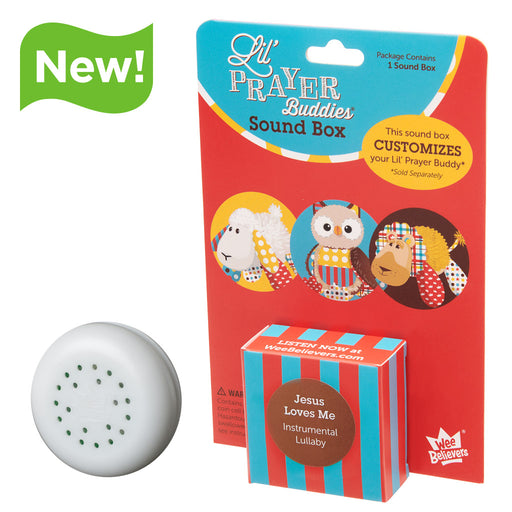 Jesus Loves Me Lullaby - Add-On Sound Box - The Wee Believers Toy Company