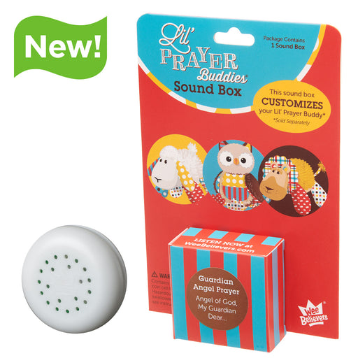 Guardian Angel Prayer - Add-On Sound Box - The Wee Believers Toy Company
