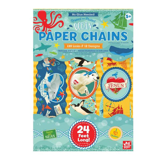 Ocean Paper Chains - The Wee Believers Toy Company