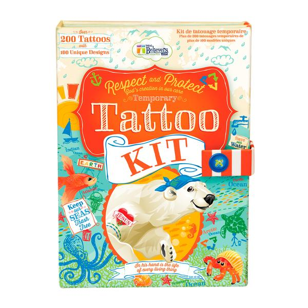 Ocean Tattoo Kit - The Wee Believers Toy Company