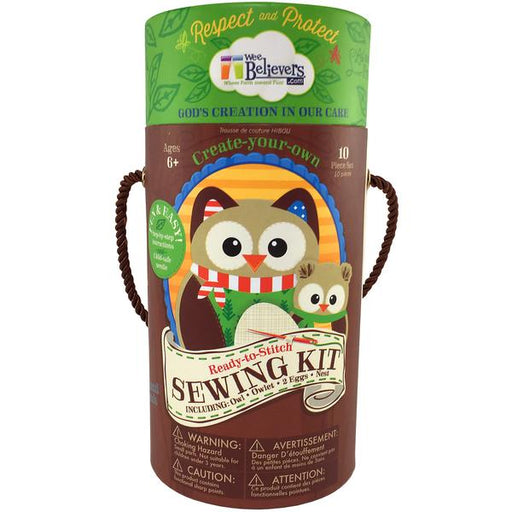 Woodland Sewing Kit - The Wee Believers Toy Company