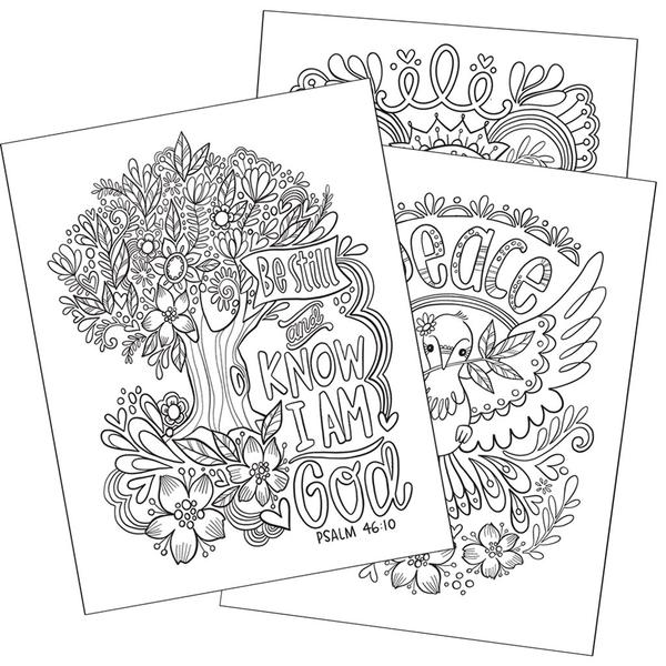 Let Your Light Shine Coloring Book, Vol.1 - The Wee Believers Toy Company