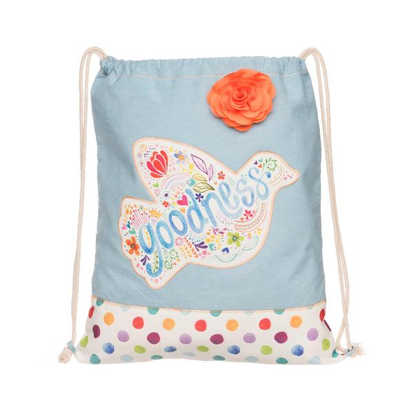 Goodness Drawstring Bag - The Wee Believers Toy Company
