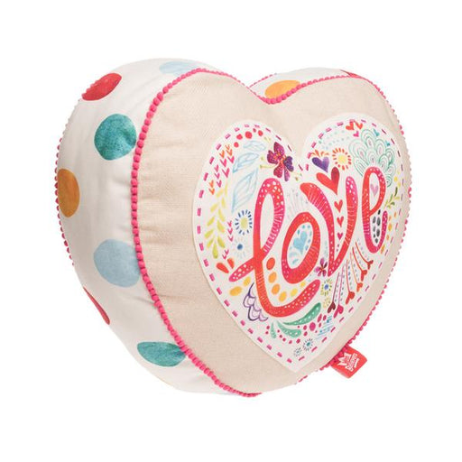 Love Heart Affirmation Pillow - The Wee Believers Toy Company